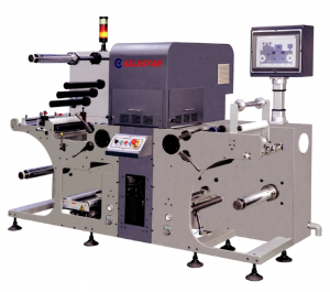 Silkstar Automatic Dual Head Roll to Roll Laser Die-Cutting Machine